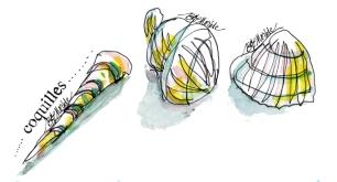 Sketches of Mount Olympus cabinet of curiosities