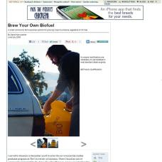 Biodiesel photo in Mother Earth News