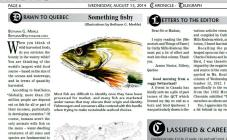 Article about sustainable fisheries